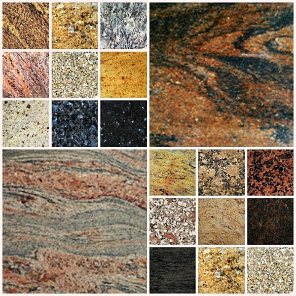 Colores del granito excellent granito kashmir gold with for Piedra granito colores